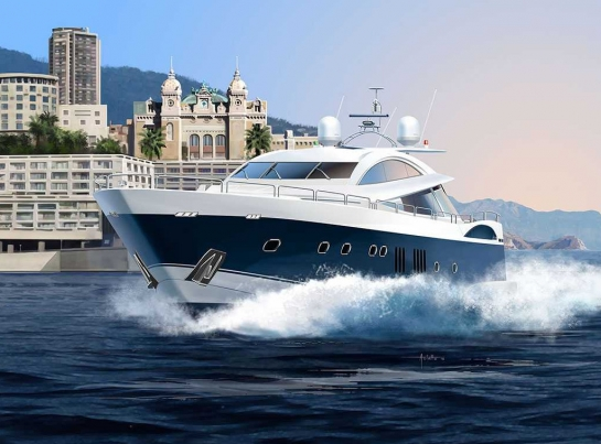 LUXURY YACHT 108 ft - Revell