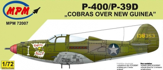 "P-400/P-39D ""Cobras over New Guinea"" - MPM"