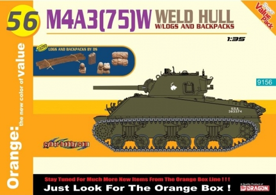 M4A3(75)W Welded Hull - Dragon