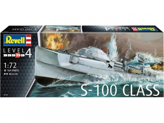 German Fast Attack Craft S-100 CLASS - Revell