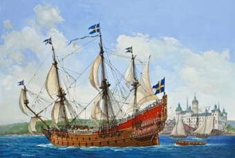 Swedish Regal Ship VASA 1628 - Revell