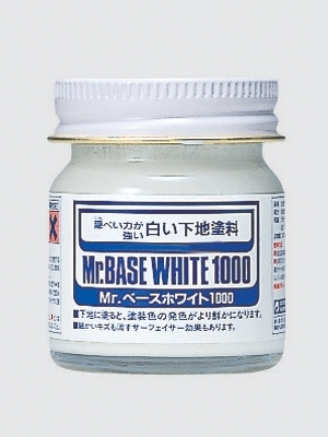 Mr.Base White 1000 - Základ bílý - Gunze Sangyo