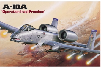 A-10 Iraq version - Academy