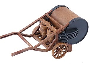 Leonardo da Vinci -  Mechanical Drum - Italeri