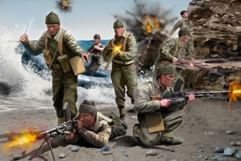 British Commandos WWII - Revell