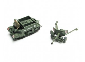 Bren Gun Carrier and 6pdr Anti-Tank Gun  - Airfix - detail modelů