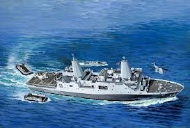 Amphibious Transport Dock U.S.S. New York (LPD-21) - Revell