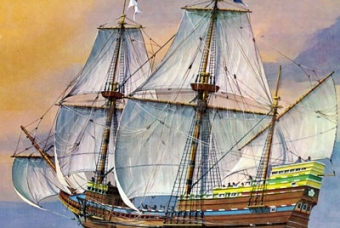 Pilgrim Ship MAYFLOWER - Revell