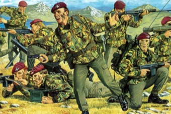British Paratroopers (Falkland) - Revell