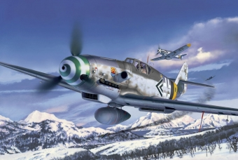 Messerschmitt Bf109 G-6 Late & early version - Revell