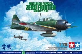 A6M3/3a ZERO Fighter Model 22 (Zeke) - Tamiya