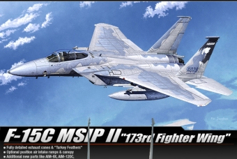 F-15C MSIP II  ''173rd Fighter Wing'' - Academy