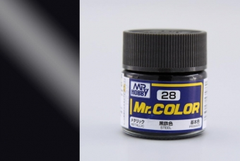 C028 - Steel - Ocel - Mr. Color