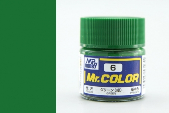C006 - Green - Zelená - Mr. Color
