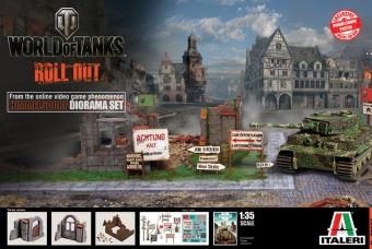 HIMMELSDORF DIORAMA SET - Italeri - World of Tanks