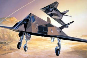 F-117A STEALTH ATTACK-BOMBER - Academy