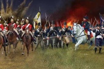 Battle of Waterloo 1815 - Revell