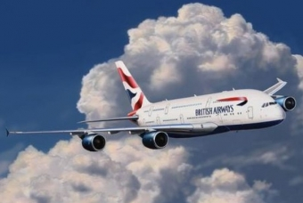 Airbus A380 British Airways ''easykit'' - Revell