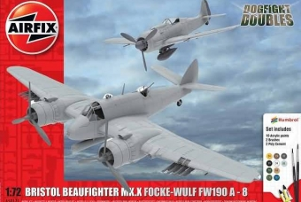 Bristol Beaufighter TF.X vs Focke Wulf Fw190A-8 - Airfix