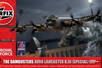 AVRO LANCASTER B.III (special) 'Operation Chastise' 1943 - Airfix