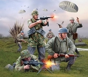 German Paratroopers WWII - Revell