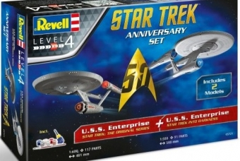 STAR TREK Anniversary Set - Revell