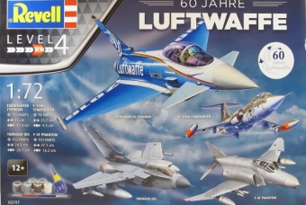 """60th Anniversary German Luftwaffe"" - Revell"