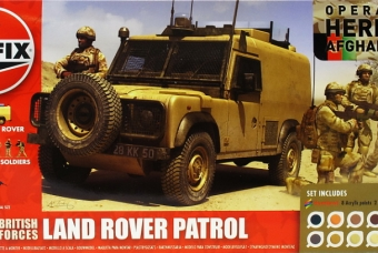 British Forces - Land Rover Patrol (Afganistan) - Airfix