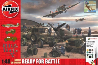 Battle Of Britain  - Ready For Battle Set - Airfix