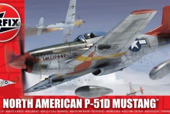 North American P-51D Mustang - Airfix