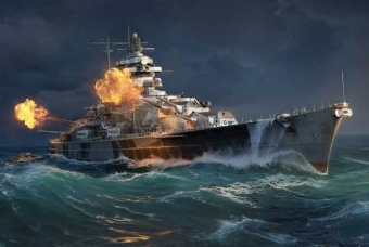 TIRPITZ (World of Warships) - Italeri