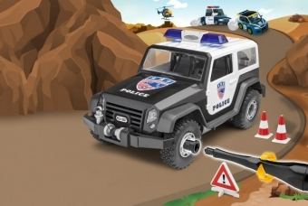 Offroad Vehicle Police - Junior Kit - Revell