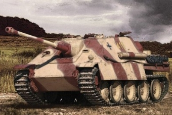 Sd.Kfz.173 Jagdpanther German Heavy Tank Destroyer - Zvezda