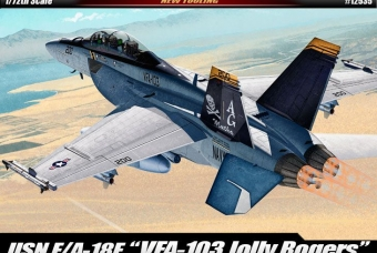 "F/A-18F VFA-103 ""Jolly Rogers"" - Academy"