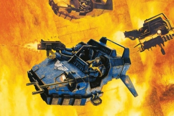 Space Marine Speeder Strike (Build + Paint) - Warhammer - Revell