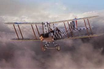 Royal Aircraft Factory BE2c Scout - Airfix