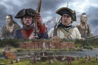 THE LAST OUTPOST - FRENCH AND INDIAN WAR (1754-1763) - Italeri
