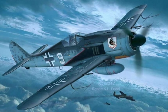 Focke Wulf Fw 190A-8, A-8/R11 Nightfighter - Revell