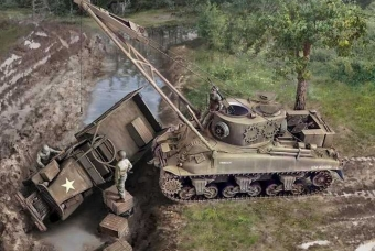M32B1 ARMORED RECOVERY VEHICLE - Italeri