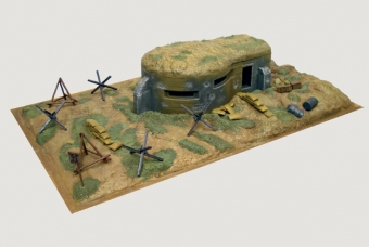 BUNKER AND ACCESSORIES WWII - Italeri