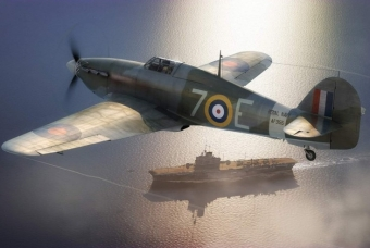 Hawker Sea Hurricane MK.IB - Airfix