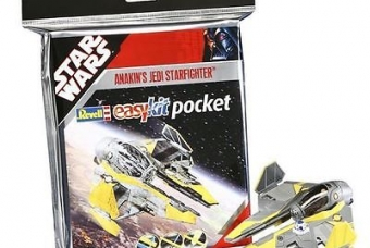 "STAR WARS Anakin's Jedi Starfighter ""easykit pocket'' - Revell"
