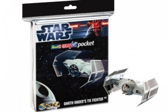 "STAR WARS Darth Vader's TIE Fighter ""easykit pocket"" - Revell"