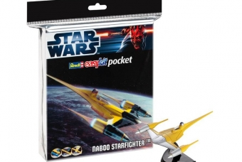"STAR WARS Naboo Starfighter ""easykit pocket"" - Revell"
