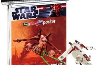 "STAR WARS Republic Gunship ""easykit pocket"" - Revell"