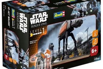 STAR WARS AT-ACT Walker (světelné a zvukové efekty) - Build & Play - Revell