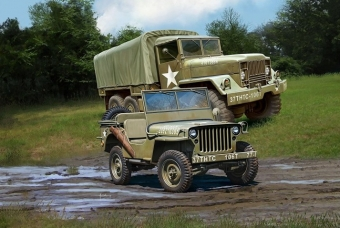 M34 Tactical Truck & Off Road Vehicle - Revell