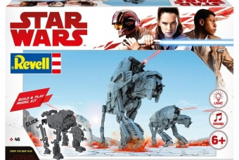 Star Wars First Order Heavy Assault Walker - světelné a zvukové efekty - Build & Play - Revell
