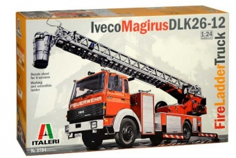 Iveco Magirus DLK 26-12 Fire Ladder Truck