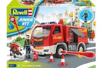Firetruck with figure - Junior Kit